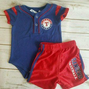 Texas Rangers One Piece and Shorts